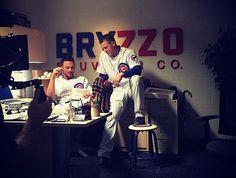 #Bryzzo Cubs Players, Cubs Team, Chicago Cubs Baseball, Baseball Boys, Softball, Cubs Win, Mlb Teams, Sports Teams, Go Cubs Go