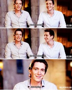 Phelps twins - Fred and George If they are talking about the scene I think they are talking about, I'm going to cry....