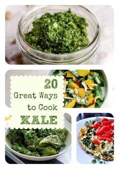 20 fantastic kale recipes