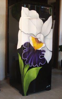 Pintura em geladeira