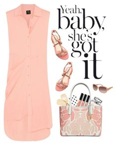 """She's Got It"" by nightowl59 ❤ liked on Polyvore featuring Lanvin, Kate Spade, McQ by Alexander McQueen, Gucci, Bobbi Brown Cosmetics, Calvin Klein, GUESS and summerstyle"