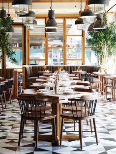 Creme Design - L'Amico Restaurant #inspiration #interiordesign #creme