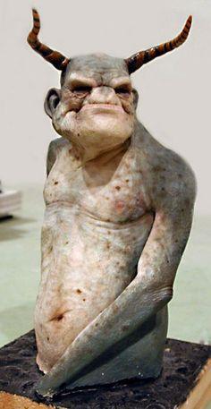Figure sculpted by Jordu Schell