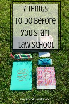 The 7 things you need to do to prepare for law school during your 0L summer are: find housing, acquire student loans, book holiday flights, check your law school's website, buy your books, visit your law school campus, and talk with current and new law students.