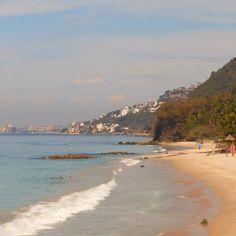 "Playa ""punta negra"" en Puerto Vallarta / ""Punta Negra"" beach in Puerto Vallarta / Mexico    Good to see it again"