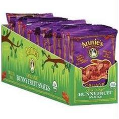 Annies Homegrown B65398 Annies Organic Bunny Fruit Snacks Berry Patch   -18x0. 8oz 24.62 x 3 = 73.86