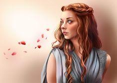 Arya Stark // Game Of Thrones by Pomelyne on DeviantArt Cersei Lannister, Daenerys Targaryen, Game Of Thrones Artwork, Got Game Of Thrones, Arya Stark, Tyrell Got, Margery Tyrell, Serie Got, Got Anime