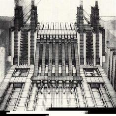 futurismo estructuras mecanizadas