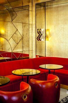 Café Français | India Mahdavi décoration - design - déco - Coups de cœur