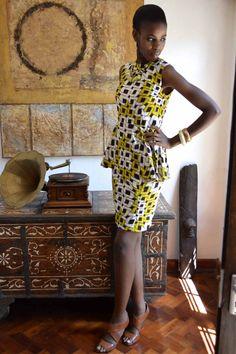 African wax fashion design - Google Search