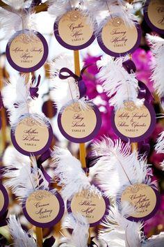 Glam wedding escort cards /// {Events by Design}  Keywords: #weddingescortcards #escortcardsforweddings #jevel #jevelweddingplanning Follow Us: www.jevelweddingplanning.com www.pinterest.com/jevelwedding/ www.facebook.com/jevelweddingplanning/ https://plus.google.com/u/0/105109573846210973606/ www.twitter.com/jevelwedding/