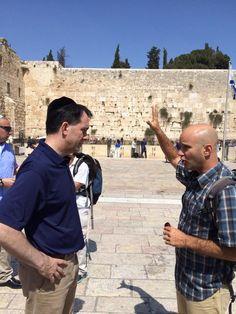 Scott Walker's media strategy in Israel is genius: Hide in plain sight - Routine Emergencies - Israel News   Haaretz