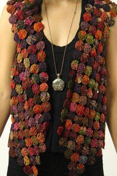 Vintage 70's Hippie boho patchwork floral by Powdervtg