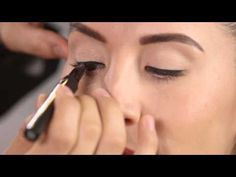 Get the Look: Slim & Natural Eyeliner w/ they're real! push-up liner - YouTube