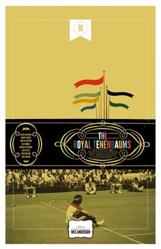 My favorite movie. The Royal Tenenbaums   Made and submitted by  Adam Juresko.