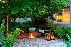Resultado de imagen para fachadas de jardines pequeños