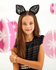 Lace Bunny Ears - Bardot Junior