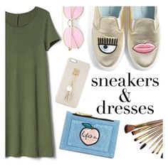 """""""Untitled #566"""" by janicevc on Polyvore featuring Chiara Ferragni, Gap, Skinnydip and Iphoria"""