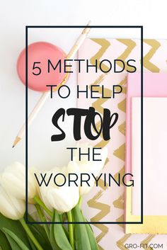 I suffer from anxiety pretty badly and the worry journal really helped me!