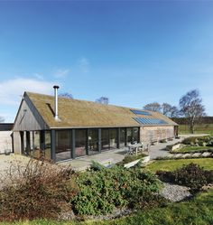 Reader's home: The Sutherlands' contemporary self build home is built with steel frame and clad with cedar and glass