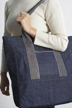 Lane Selvedge Denim Everyday Bag