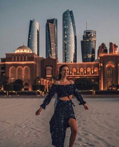 Leonie Hanne in Abu Dhabi - From @ohhcouture instagram