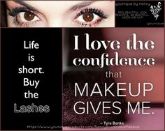 Life is short Buy the lashes!! My lashes have never looked better my results!!!If you would like to purchase Younique 3D Fiber lashes follow the link.. https://www.youniqueproducts.com/NancyRuvalcabaMakeup