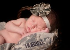 esabella creak. military baby. can't wait for picture time!