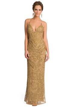 0d5839652d6 Buy Drop Dead Gold Gorgeous Gown by Nicole Miller for $180 from Rent the  Runway.