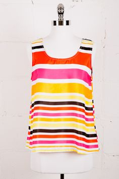 Sunset Stripes Tank