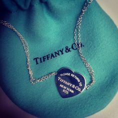 Engrave your own. It doesn't have to be Tiffany's but I want something personalized , preferred a necklace , with something engraved in it .