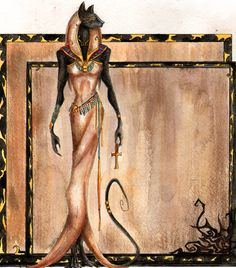 Bastet - this was the name of our cat.
