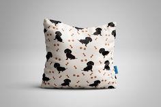 Dachshund + seamless pattern+bonus by Orangepencil on @creativemarket