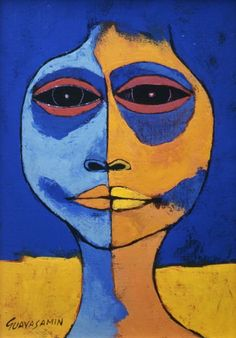 Cabeza II by Oswaldo Guayasamin