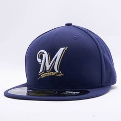 """Milwaukee Brewers New Era """"MLB Authentic Collection 59FIFTY Cap"""""""