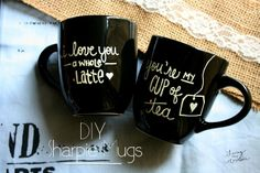 5 DIY Valentine's Day Mugs