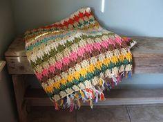 crochet afghan larksfoot crochet blanket