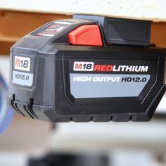 Milwaukee M18 M 18v Battery Adapter Dock Holder New Milwaukee Tools, Milwaukee M12, Power Tool Storage, Off Work, Shop, Drum Kit, Store
