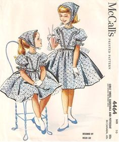 McCall's 4464 by Helen Lee © 1958.