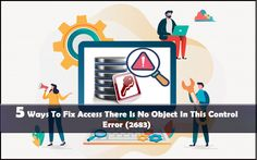 Try the following fixes to resolve Access 2016 there is no Object in this Control error. Fix 1# Remove The Error Causing Control; fix 2# Unhide The Hidden Objects Ms Office Applications, Recovery Tools, Error Code, Hidden Objects, 5 Ways, Microsoft