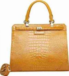 Bag / bolsas Bolsas de couro Bolsa couro feminina liane ocre - Carmim Store