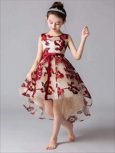 Pat Pat Pretty Embroidered Dress on Mercari African Dresses For Kids, Little Girl Dresses, Girls Dresses, Flower Girl Dresses, Baby Girl Dress Patterns, Baby Dress, Dressy Dresses, Cute Dresses, Kids Dress Wear