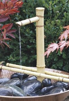 Craft Source: Bamboo Fountain