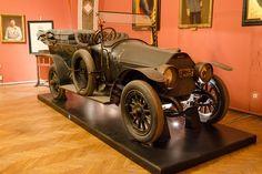 1910 Graf & Stift Bois de Boulogne tourer, that Archduke Franz Ferdinand of the Austro-Hungarian Empire, was assassinated in, starting WWI Vintage Cars, Antique Cars, Archduke, Graf, Austro Hungarian, Most Haunted, Ferdinand, Limo, World War I