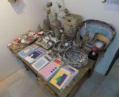 Nafplio Vouleftiko Craft Exhibition Christmas 2016 - Ο πάγκος μας στην έκθεση Χειροτεχνών Αργολίδας (Ναύπλιο, Βουλευτικό 2016)