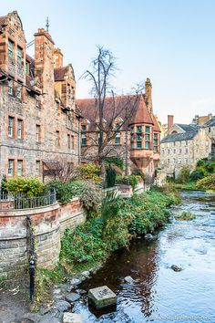 Prettiest Cities in Europe – 11 Beautiful Cities You Have to Discover Dean Village in Edinburgh, Scotland is one of the prettiest parts of the city. Places Around The World, Travel Around The World, Around The Worlds, Best Places To Travel, Places To See, Villages In Uk, Brighton, Edinburgh Travel, London Travel