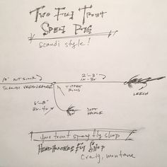 Two Fly Trout Spey Rig - Headhunters Fly Shop Fly Tying Tools, Steelhead Flies, Fly Casting, Trout Fishing Tips, Fly Shop, Rigs, It Cast, Men's Fashion, Hacks