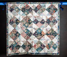 beautiful patchwork quilt by KandKlimited on Etsy