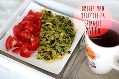 Recept: Broccoli en Spinazie Omelet. PALEO!