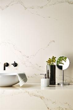 Statuario Nuvo marble countertop pattern by Caesarstone or Pental?